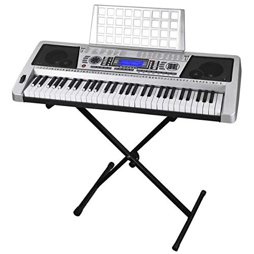 Best Prices! For 61 Key Electronic Piano Keyboard M ic Key Board Organ With X Stand Portable MALOLIK...