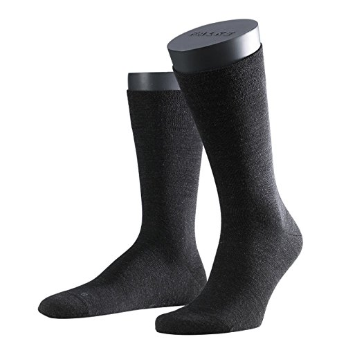 FALKE Functional Herren Socken Sensitive Berlin 3er Pack, Anthracite Melange-3080, 43-46