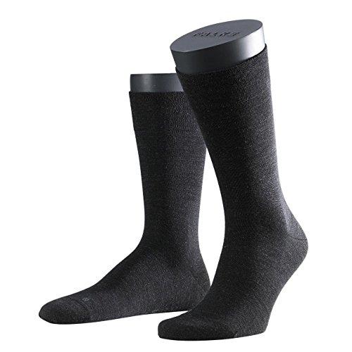 FALKE Functional Herren Socken Sensitive Berlin 3er Pack, Anthracite Melange-3080, 43-46