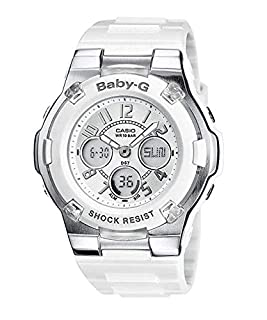 Casio Reloj analógico-Digital para Mujer de Cuarzo con Correa en Resina BGA-110-7BER (B0039NB6JY) | Amazon price tracker / tracking, Amazon price history charts, Amazon price watches, Amazon price drop alerts