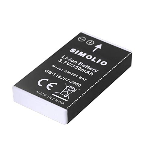 Li-ion Battery for SIMOLIO Wireless TV Headphones SM-823, SM-823D, Rechargeable and Replaceable Battery for Simolio Wireless TV Hearing Assistance Headsets
