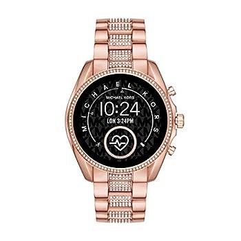 Michael Kors Access Women s Bradshaw 2 Touchscreen Stainless Steel Smartwatch Rose Gold tone w/Pave centerlinks-MKT5089