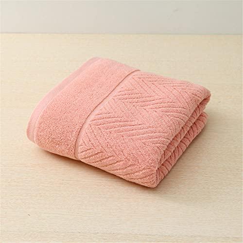 Alrededor de 70x140cm Simple Impreso Verde Rosa Azul Blanco Grueso algodón Duradero Toallas de baño Adulto-C5 para Hotel y SPA máxima suavidad y Altamente Absorbente