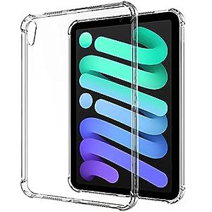 """YOCCO iPad Mini 6 ケースクリア TPUソフト透明保護 薄型 衝撃吸収 柔らかい手触り バックカバー 対応端末..."""""""