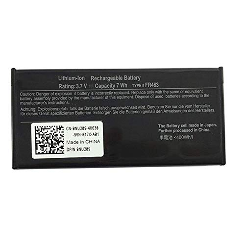 ASKC 3.7V 7Wh FR463 Laptop Battery for Dell Poweredge Perc 5i 6i PowerEdge 1950 2900 2950 6850 6950 R510 R610 R900 Series NU209 P9110 U8735 XJ547