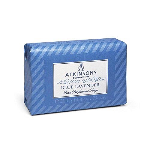I coloniali sapone blue lavander di Atkinsons, Sapone Unisex - Saponetta 200 ml.