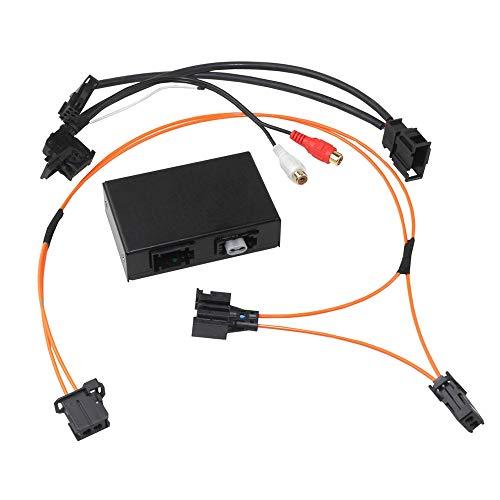 Kufatec 43394 AUX und Bluetooth-Adapter kompatibel mit Audi mit MMI 2G Low & High