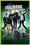 1art1 Big Bang Theory Poster und Kunststoff-Rahmen -