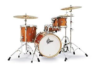 Gretsch Drums Drum Set, Bronze Sparkle (CT1-J484-BS)