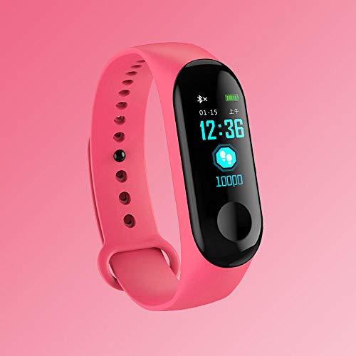wojiaxiaopu Smart Watch kinderuhren Kinder für mädchen Jungen Sport Armband Kind Armband smart Band Fitness Tracker smartwatch wasserdicht-Rosa