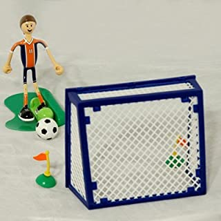 Bendos Toy Figure and Boy Soccer Set