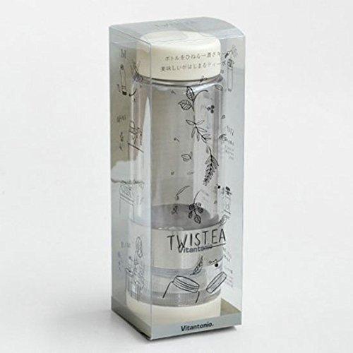 ビタントニオツイスティーVitantonioTWISTEA[グリーン/VTW-10]ティーボトル茶こし