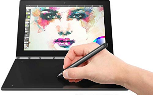 """2017 Newest Lenovo Yoga Book 10.1"""" FHD Touch IPS 2-in-1 Convertible Tablet PC, Intel Atom x5-Z8550 1.44GHz, 4GB RAM, 64GB SSD, Bluetooth, HD Graphics, Windows 10 Home- Carbon Black"""