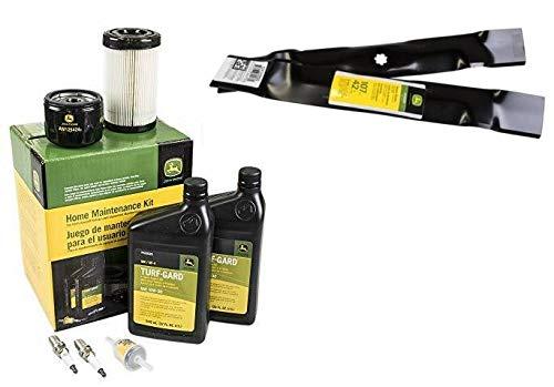 John Deere Original Equipment Full Maintenance Kit - LG275 + GY20850 Blade Set - LG275A