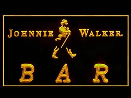 U010R Johnnie Walker For Bar Pub Display Light Sign