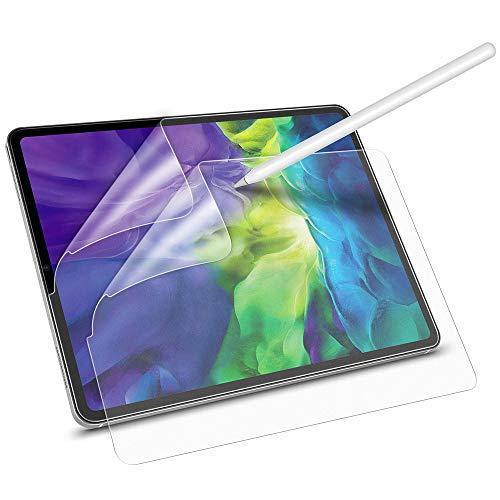 """ESR 2 Stück Papiertraum Display Schutzfolie für iPad Pro 11"""" 2020 [Unterstützt Apple Pencil] [Schreiben/Zeichnen wie auf Papier] Blendfreie Matte PET Folie für iPad Pro 11-Zoll 2020 (Nicht Glas)"""
