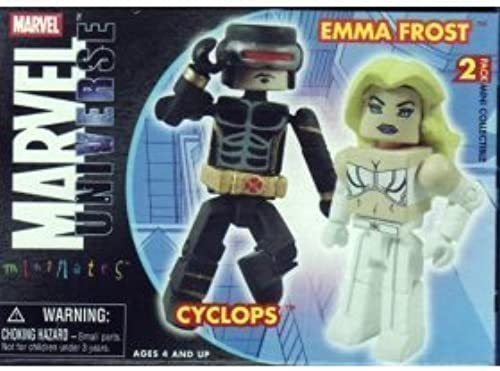 la mejor selección de Marvel Mini-Mates Series 13 Astonishing Astonishing Astonishing Cyclops and Emma Frost by Art Asylum Diamond Select Toys  comprar barato
