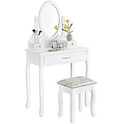 schminktisch wei produkte und angebote. Black Bedroom Furniture Sets. Home Design Ideas
