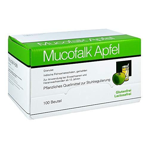 Mucofalk Apfel Granulat Quellmittel zur Stuhlregulierung, 100 St. Beutel
