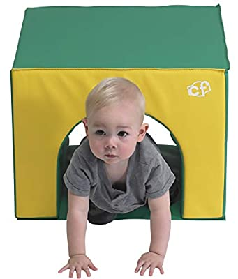Children's Factory Crawl Through Soft Play Tunnel, Foam Indoor Toddler/Baby Climbing Toys, Baby Crawling Toy for Playrooms/Homeschools/Classrooms