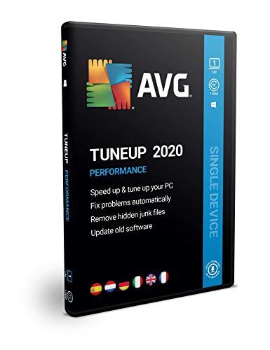 AVG PC TuneUp 2020 | 1 equipo | 1 año | En Caja