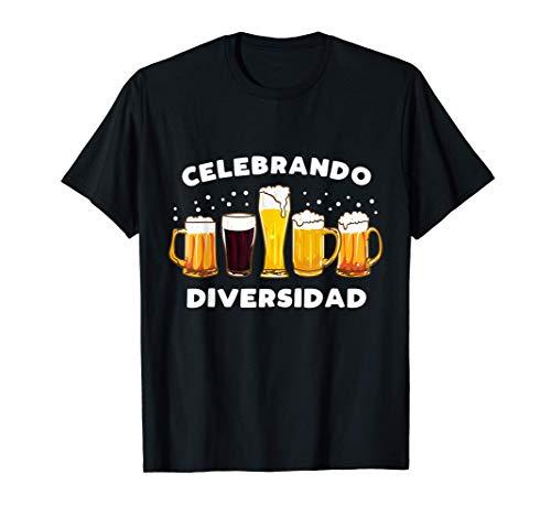 Regalo Original Friki Cerveza Celebrando Diversidad Camiseta