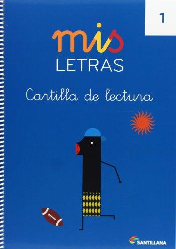 MIS LETRAS CARTILLA DE LECTURA 1 - 9788468015217