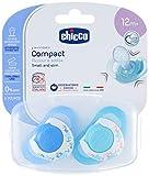 CHICCO COMPACT BIMBO SUCCESS, Silikon, 12+ Monate, 2 Stück, farblich sortiert