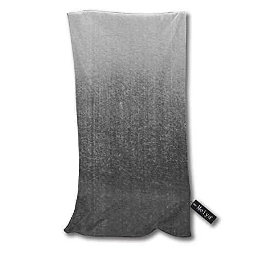 ZDmood Toallas de baño Blur Abyss Toalla de bañ Color Negro 30 * 70cm