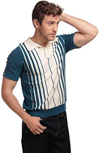 Collectif Herren Oberteil Pablo Fine Stripe