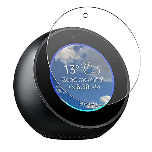 Vaxson 4-Pack Anti Luce Blu TPU Pellicola Protettiva, compatibile con AMAZON Echo Spot, Screen Protector Film [ Non Vetro Temperato ]