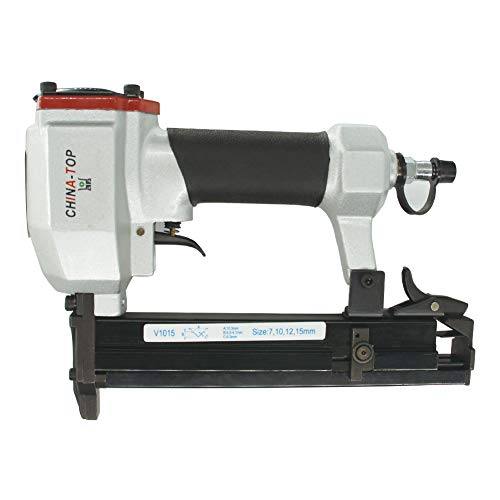 China-top Silver V1015 V Nailer 30 Gauge 3/8-inch Crown 1/4'' to 5/8'' Pneumatic Picture Frame Joiner Picture Frame...
