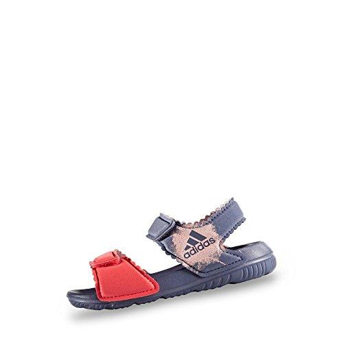 adidas Altaswim, Sandalias de Punta Descubierta Unisex niños, Morado (Super Purple/Haze Coral/Easy Coral), 22 EU