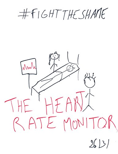 """The Heart Rate Monitor (""""Nothing To Be Ashamed Of"""" The Inner Monologues by Fragadagadagada Book 1) (English Edition)"""