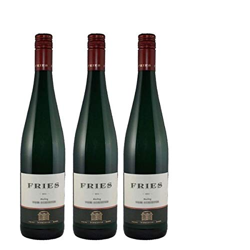 Weißwein Weingut Fries Riesling Apollo-Terrassen feinherb (3 x 0,75 l)