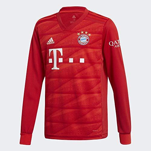 adidas Kinder FC Bayern München Home Langarm Trikot 2019/20 FCB True RED 128