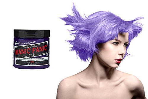 Manic Panic High Voltage Classic Cream Formula Colour Hair Dye (Lie Locks)
