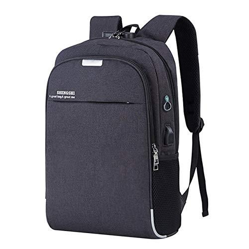 Ruox mochilaMochila de Negocios Grande USB Laptop Mochilas Escuela Bolsas Student Schoolbag...