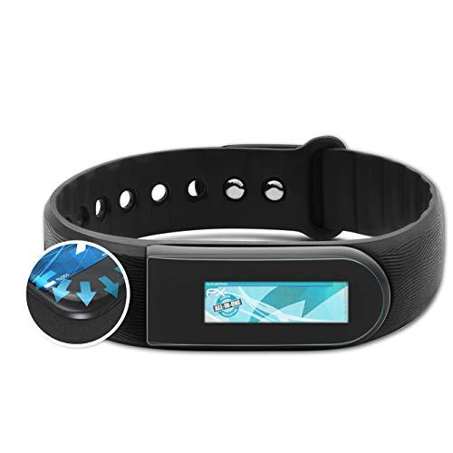 atFoliX Schutzfolie kompatibel mit Medion Life S2000 MD60879 Folie, ultraklare & Flexible FX Bildschirmschutzfolie (3X)