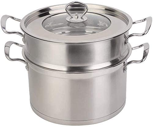 Picnic Bag Steamer Pot 26CM Stainless Layer Steel Max 42% OFF Max 70% OFF S Double Food