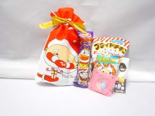 クリスマス サンタ柄 駄菓子 詰め合わせ3Sサイズ/プレゼント/配布/イベント/子ども会