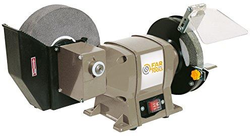 Fartools One TME 1506200B - Mola da banco, potenza 250 W, dimensioni: 200 x 20 x 40 mm e 150 x 12,7 x 20 mm