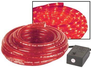 Velleman Flexible lumineux - 2 canaux - 8m - rouge + avec fiche etanche + boite de contro