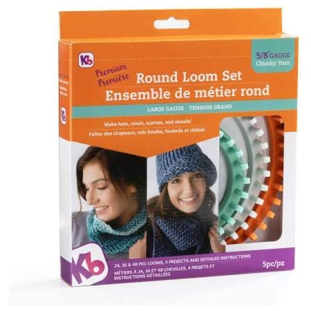 Ensemble de planche à tricoter rond et épais