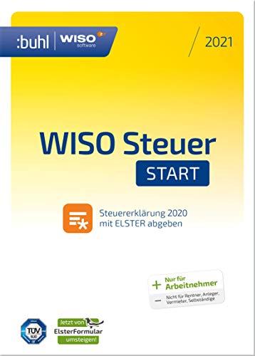 WISO Steuer-Start 2021 (für Steuerjahr 2020 | PC Aktivierungscode per Email) jetzt mit automatischem Umstieg von Elsterformular