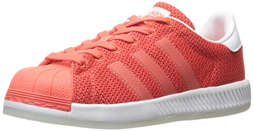 Imperial resistencia pasar por alto  adidas Originals Junior's Superstar Bounce Sneaker, Easy Coral/Easy Coral/White,  3.5- Buy Online in Mongolia at mongolia.desertcart.com. ProductId :  42455698.