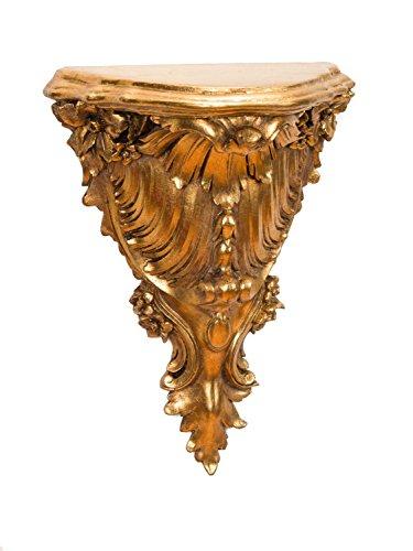Stile Barocco Antico Console mensola Staffa a Muro Mensola Wandboard Colori Oro