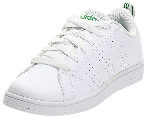 adidas Vs Advantage Clean K, Sneakers Bimbo, Bianco, 29 EU