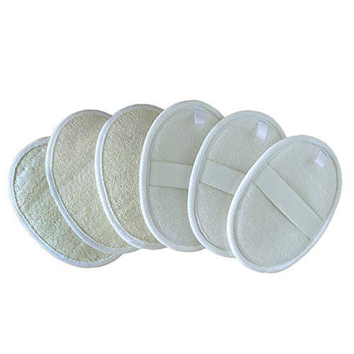 6 Packs Loofah Pads,Body Washing Loofah Sponge Brush Close Skin for Men and Women,Perfect for Bath Spa and Shower