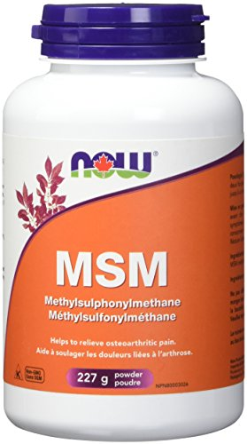 NOW Msm Pure Powder, 227g